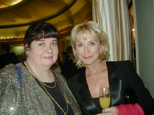 Felicity Kendall with Victoria